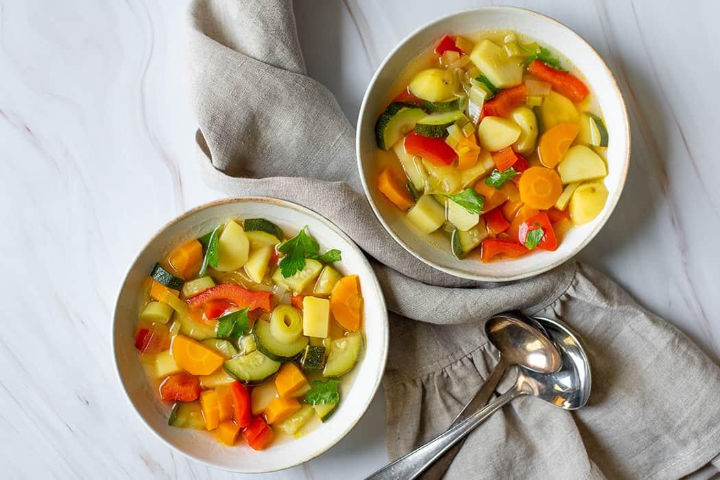 Gemüse Suppe01