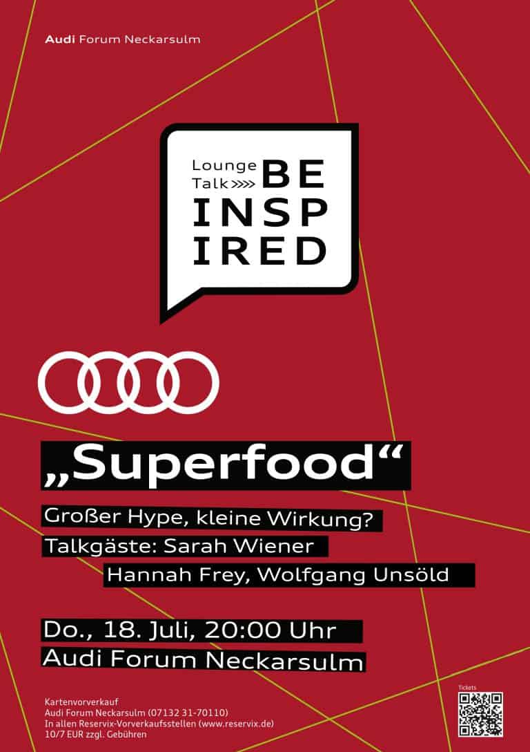 AUDI be inspired Superfood