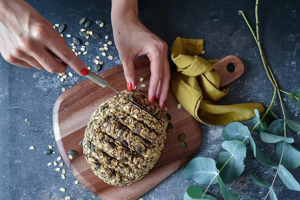 Brot ohne Mehl und Hefe02 5