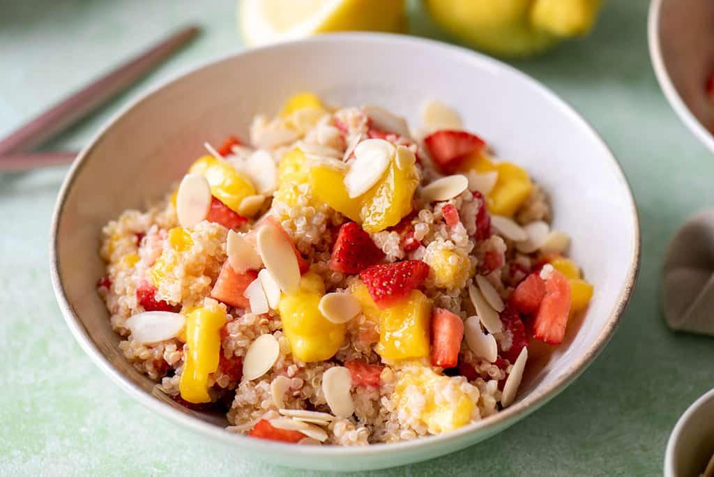 Erdbeer Mango Quinoa Salat05