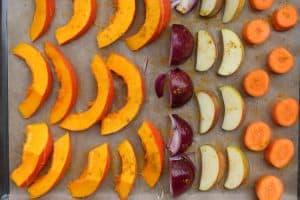 Fruchtige gebackene Kuerbissuppe1 5