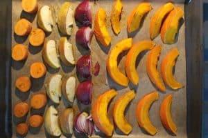 Fruchtige gebackene Kuerbissuppe2 5