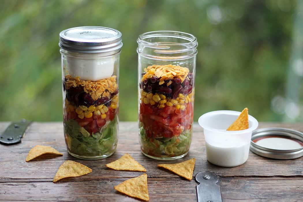 Mexikanischer Schichtsalat 1 10