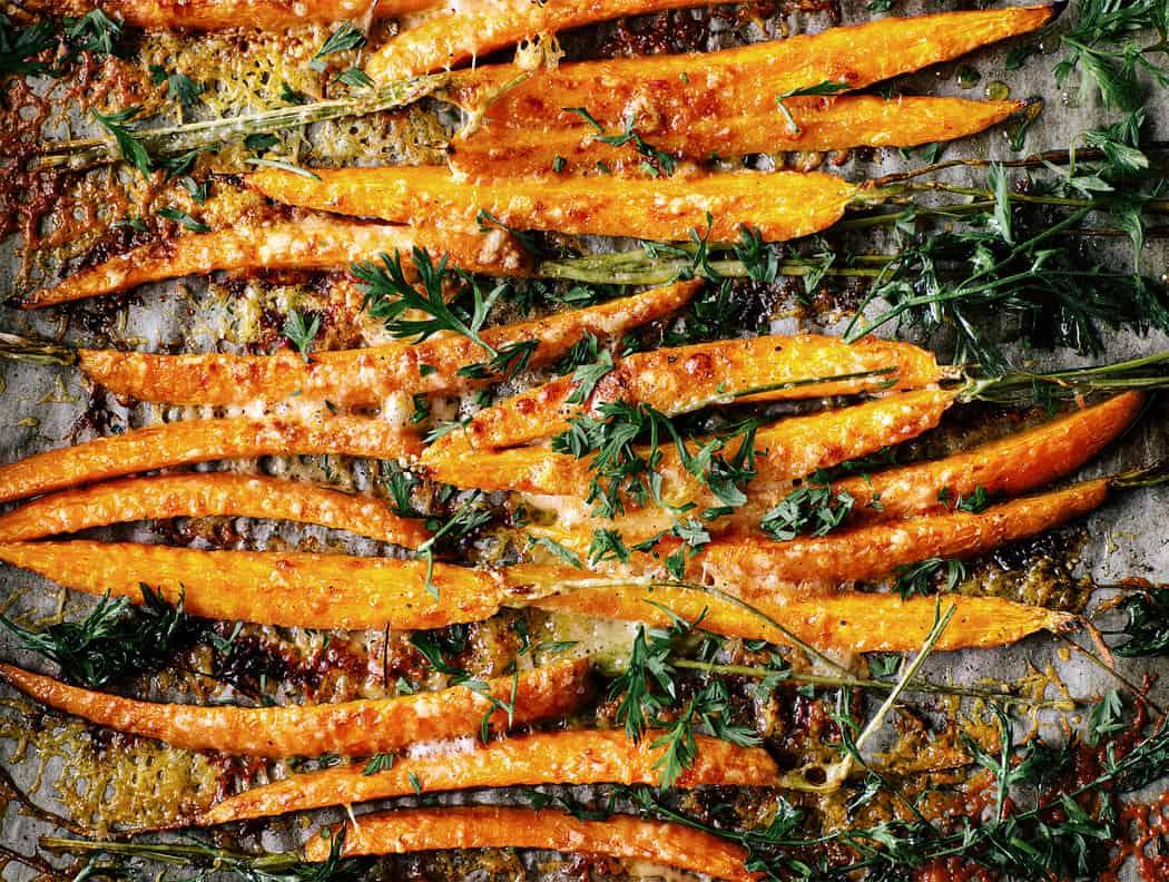 Moehrensticks mit Parmesankruste 10