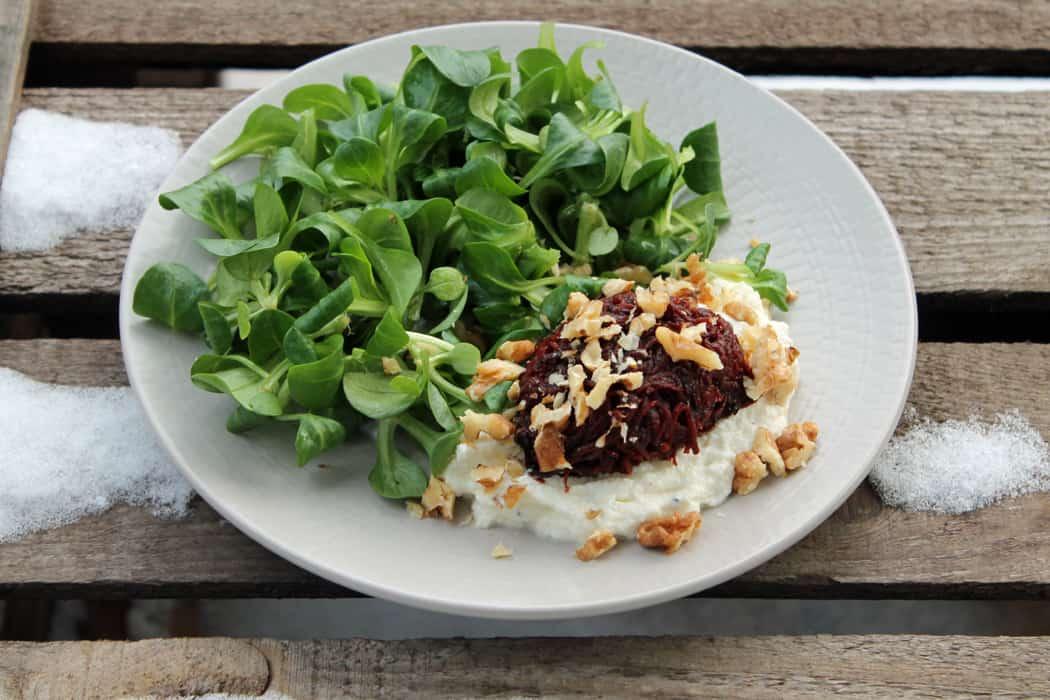 Rote Bete fermentiert mit Feldsalat1 10
