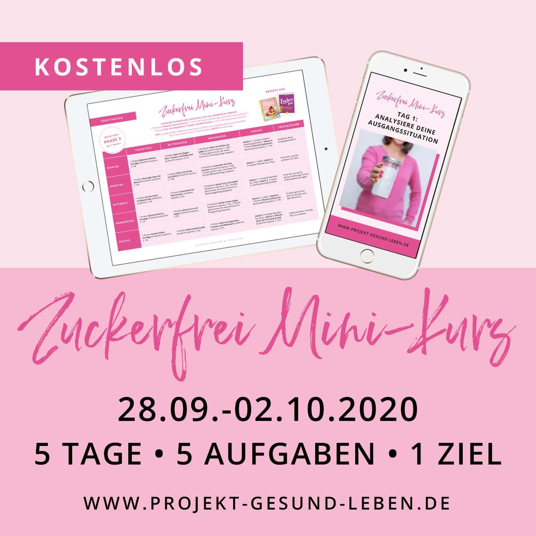 Zuckerfrei Minikurs 9 2020