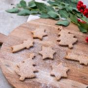 Rezept: Ausstechkekse / Plätzchen ohne Zucker (Weihnachten)