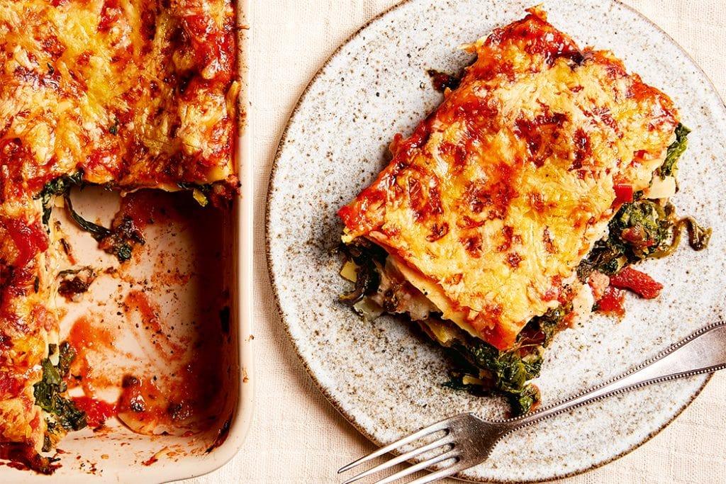 Lasagne mit Blumenkohlsauce01