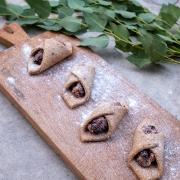 Rezept: Mandelkekse mit Chia-Samen und getrockneten Sauerkirschen (Weihnachten)
