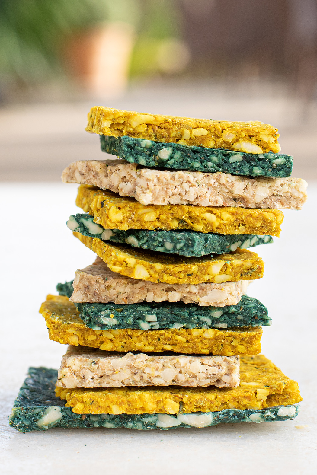 Glutenfreie Rohkkost Cracker04