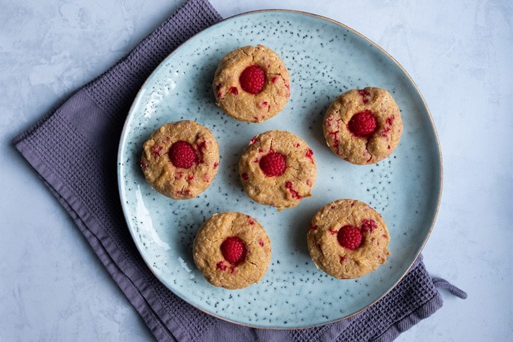 Fruehstuecksmuffins mit Himbeeren04