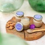 Naturkosmetik selber machen: Mandelpeeling mit Zucker