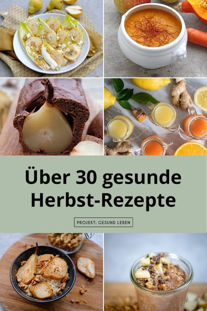 Ueber 30 gesunde Herbst Rezepte Pinterest neu05