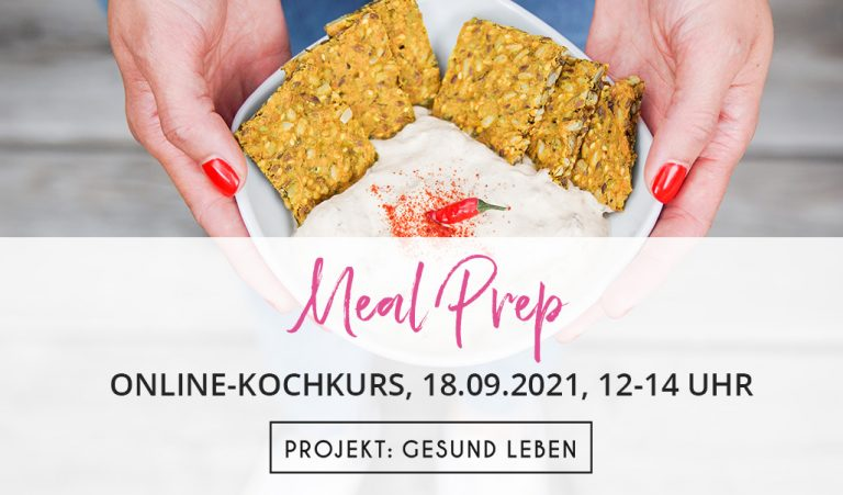 Meal Prep Online Kochkurs
